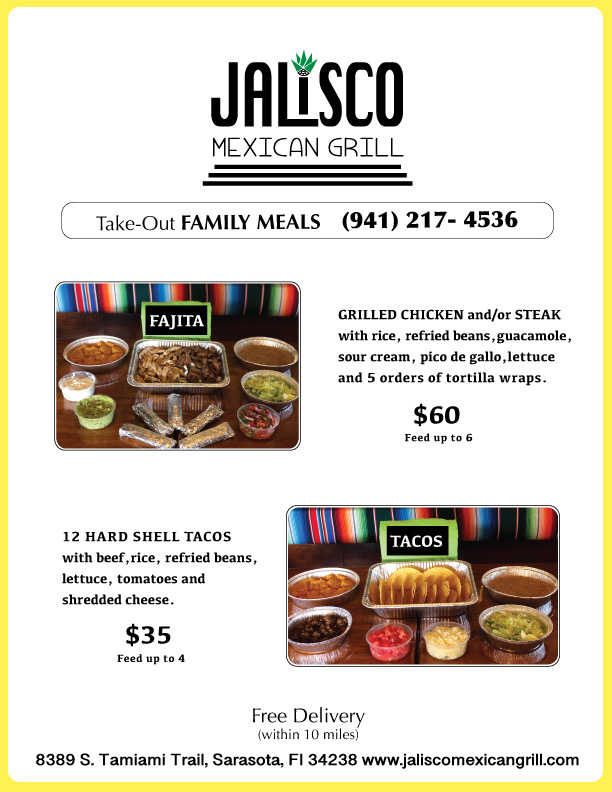 take out mexican food sarasota